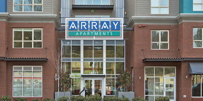 Array Apartments Seattle